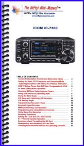 icom ic 7300 mini manual by nifty accessories nifty accessories