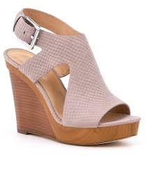 buy michael michael kors josephine leather peep toe wedges u003e off65