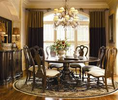 Exellent Round Dining Room Table Decor With Ideas - Formal round dining room tables