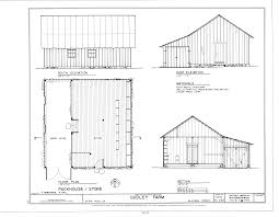 file packhouse storehouse elevations floor plan and section