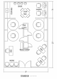 how to create a ms visio floor plan using conceptdraw pro salon