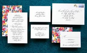 Handmade Wedding Invitations Wedding Invitations Elegant Calligraphy By Paperfingers New