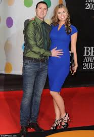 does paddy mcguiness use hair products brits 2013 paddy mcguinness wife christine shows off her