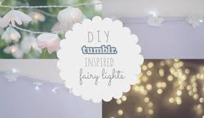 diy inspired flower fairy lights youtube