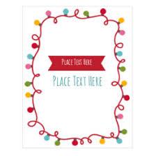 Christmas Light Template Free Christmas Labels And Holiday Printables Avery Com