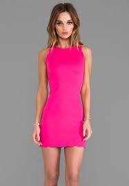 hot pink dress for lemons x revolve rosarito dress in hot pink at revolve