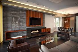 Modern Great Room - 21 gorgeous living rooms with accent walls of all styles pictures