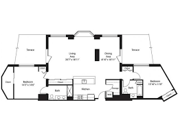The Lenox Floor Plan 2 Bed 2 Bath Apartment In Silver Spring Md Lenox Park