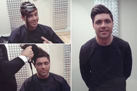 male hair extensions before and after male men hancing hair extensions were out in force at the ntas