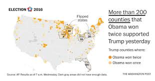 2016 Electoral Map Predictions 15 Days To The Election by Map The Obama Voters Who Helped Trump Win The Washington Post