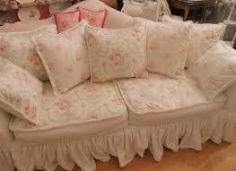 furniture home shabby chic sofa slipcovers white sofa slipcovers