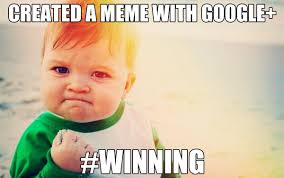Making Memes - how to create a meme the easy way with google dustn tv
