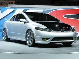 Honda Civic Si Two Door 2005 Honda Civic Si Concept Review Supercars Net