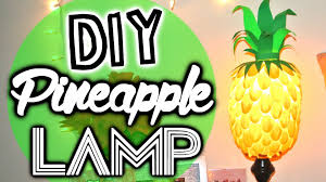Banana Themed Lamps Summer Ready Diy Pineapple Lamp Youtube