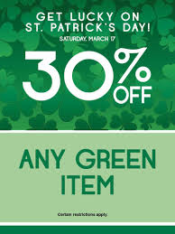 s day sales st patricks day 4 window sales a look by goodwillnynj