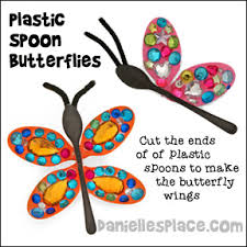 Butterfly Crafts For Kids To Make - butterfly caterpillar and inchworm crafts