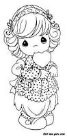 precious moments animal coloring pages getcoloringpages