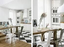 carrelage cuisine damier noir et blanc best cuisine carrelage damier noir et blanc photos design trends