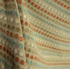 Geometric Drapery Fabric Josh Julep Contemporary Geometric Polka Dot Chenille Fabric