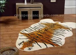 art tiger skin rug c4 faux fur tiger skin rugs c4 99 cyrus
