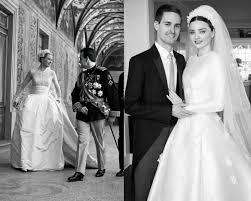 wedding dress miranda kerr you ll fall in with miranda kerr s couture wedding gown