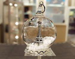 eiffel tower glass pendant glass jewelry