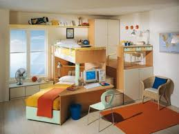decorative modern kids room with yellow cool bunk bed ideas and
