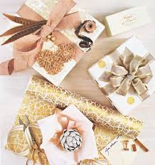 gold gift wrap gorgeous gift wrap embellishments simplified bee