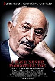forgotten 2017 imdb i never forgotten you the legacy of simon wiesenthal