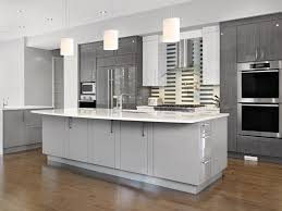 Kitchen Cabinet Solid Surface Kitchen Floor Modern Gray Kitchen Cabinets Side By Side