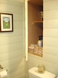 Bathroom Wall Mounted Shelves Wall Shelves In Bathroom Recessed Built In Open Shelves Bamboo