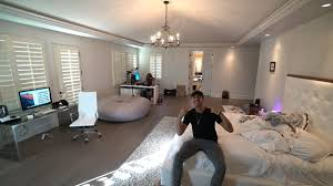my new room tour master bedroom faze house la youtube