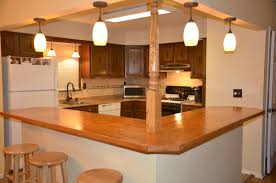 split level kitchen ideas the kitchen wall is coming but need something other than an