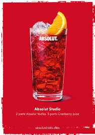 vodka tonic cranberry color it warhol cocktails absolut studio recipe 2 parts
