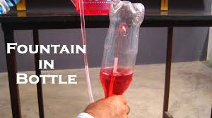 fountain in bottle easy science project for kids by sameer goyal