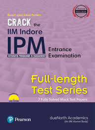 iim indore ipm full length test series fully solved by due north