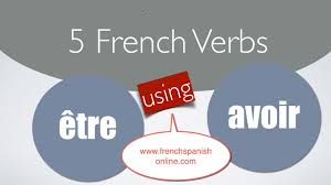french verbs using être and avoir youtube
