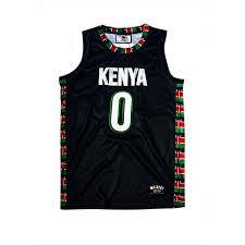 Kenya Flag Clothing Kenya Basketball Jersey U2013 Mizizi