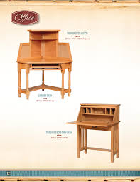 carlisle oak corner desk and mission secretary desk