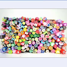 wholesale candy wholesale candy color diy nail sticker decal mini soft clay