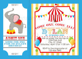 birthday clowns it tougher than you think i ll take that personalized carnival circus birthday party invitation printable