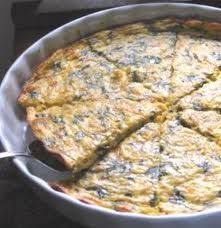 Spinach Quiche With Cottage Cheese by Crustless Low Carb Spinach Quiche Recipe Sparkrecipes