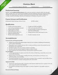 nursing resume exles cna resume sle resume exles