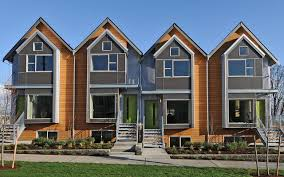 duplex house plans narrow lot duplex design easily converts to