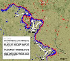 Battle Of Kursk Map K 19 Maps