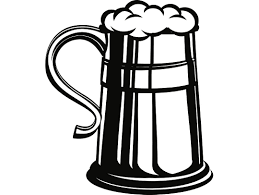 drink svg beer stein 2 metal tin mug cup bar pub tavern bartender drink