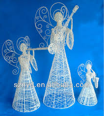 lighted angel outdoor christmas decorations buy lighted angel