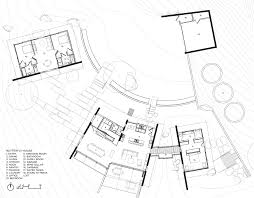 butterfly house feldman architecture archdaily floor plan