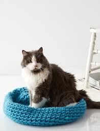 cat nap nest quick and easy crochet bed for your favorite furry