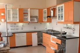 Kitchen Design Ideas 2012 Large Kitchen With Orange Display Windows Design By Interior